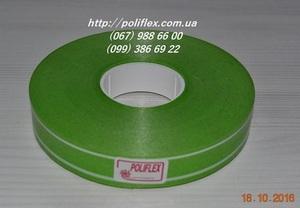 Завязка для цветов светло-зеленая