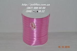 Завязка для цветов и подарков розовая