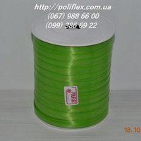 Завязка для цветов и подарков зеленая