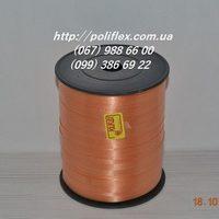 Завязка для цветов и подарков оранжевая